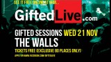 "November 21th 'Gifted Sessions with The Walls' ""MONROES LIVE"" or watch it FREE online here!"