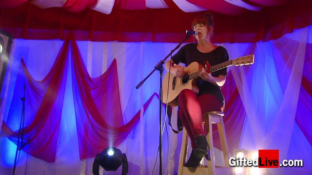Sabrina Dinan 'In The Dark' performed for GiftedLive.com on 22/11/12