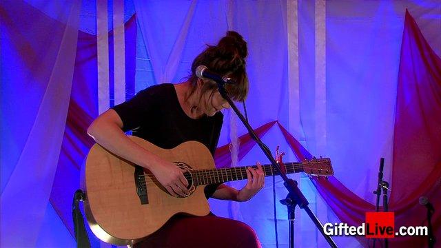 Sabrina Dinan 'When I'm Old' performed for GiftedLive.com on 22/11/12