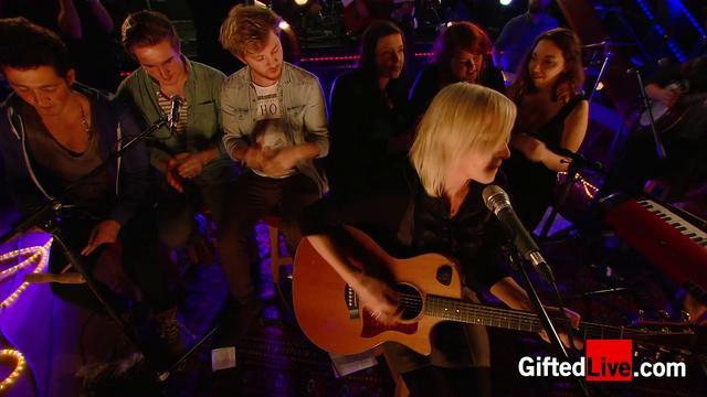 Cathy Davey, Neil Hannon & friends 'Little Red' performed for GiftedLive.com on 22/11/12